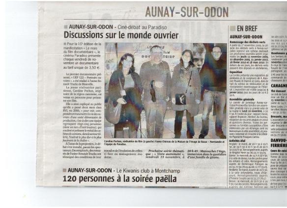 UEP 122 à Aunay sur Odon en nov 09