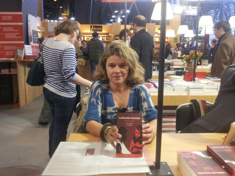 Au salon du livre 2013