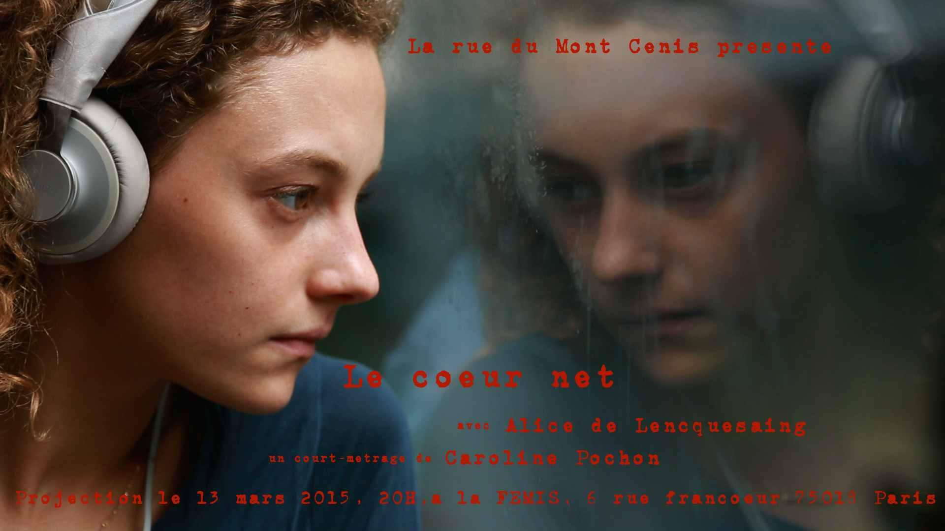 invitation projection Le coeur net, 13 mars 2015
